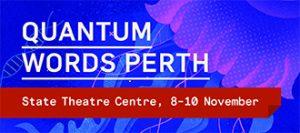 Quantum Words Perth banner